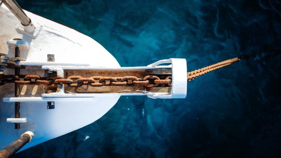 Segelboot Metapher für persönliche Weiterentwicklung